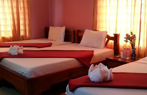 Triple Standard Room with Fan (3pax)